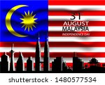 vector illustration of malaysia ... | Shutterstock .eps vector #1480577534