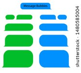 message bubble chat for text ... | Shutterstock .eps vector #1480585004