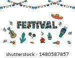 Festival Sales Bright Design...