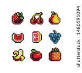 Colored Stickers Pixel Art...