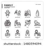 family icon set for web design  ...   Shutterstock .eps vector #1480594094