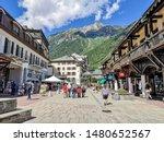 Chamonix  France   August 8 ...