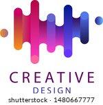 colorful logo. creative... | Shutterstock .eps vector #1480667777
