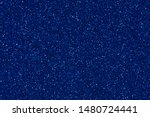 Perfect new blue glitter background. Your adorable texture for new holiday view. High quality texture in extremely high resolution, 50 megapixels photo.