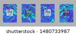 covers templates set with... | Shutterstock .eps vector #1480733987