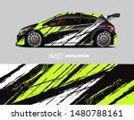 Car Wrap Decal Design Concept....
