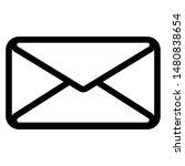 mail icon symbol simple design...