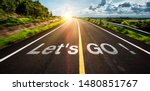 The Word Let\'s Go Written On...