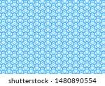 blue traditional japanese... | Shutterstock .eps vector #1480890554