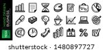 set of hand drawn business...   Shutterstock .eps vector #1480897727