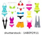 various colorful vector... | Shutterstock .eps vector #148092911