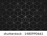 abstract geometric line... | Shutterstock .eps vector #1480990661