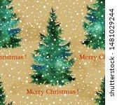 Christmas Tree Hand Paint...