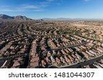 aerial view of summerlin...   Shutterstock . vector #1481044307