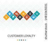 customer loyalty trendy ui...