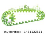 saving and ecology friendly... | Shutterstock .eps vector #1481122811