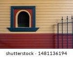 A Cute Arch Ticket Window Or...