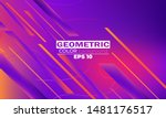 geometric background with...