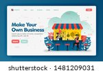 make your own business vector...