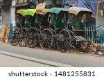 Historical Hand Pulled Rickshaw ...