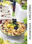 decoration with fruit during a... | Shutterstock . vector #148125881