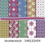 abstract vector set of paper...   Shutterstock .eps vector #148132454
