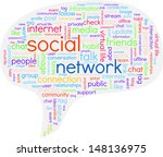 a speech bubble containing... | Shutterstock .eps vector #148136975