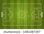 vector illustration. football... | Shutterstock .eps vector #1481387357