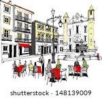 vector illustration of outdoor... | Shutterstock .eps vector #148139009