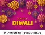 diwali festival of lights... | Shutterstock .eps vector #1481398601