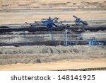 coal mining in an open pit | Shutterstock . vector #148141925