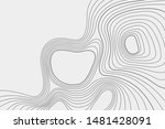 gray outlines of vector... | Shutterstock .eps vector #1481428091