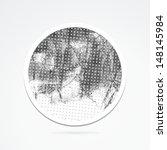 grunge sticker. grunge banner.... | Shutterstock .eps vector #148145984