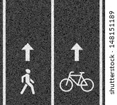 bicycle and pedestrian paths....