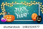 trick or treat  horizontal... | Shutterstock .eps vector #1481524577