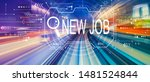 searching new job theme with... | Shutterstock . vector #1481524844