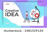brainstorm creative idea... | Shutterstock .eps vector #1481529134