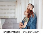 laughing happy affectionate... | Shutterstock . vector #1481540324