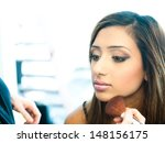 attractive young asian indian...   Shutterstock . vector #148156175