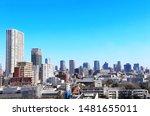 aerial view of tokyo   capital... | Shutterstock . vector #1481655011