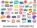 set of labels and stickers for... | Shutterstock .eps vector #1481682761