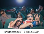watching three dimensional... | Shutterstock . vector #148168634