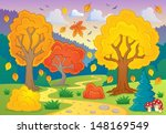 autumn thematic image 5   eps10 ... | Shutterstock .eps vector #148169549