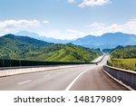 highway  blue sky  sunny weather | Shutterstock . vector #148179809