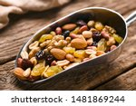 Healthy Trail Mix Snack Made Of ...