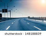 container truck on the cross... | Shutterstock . vector #148188839