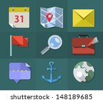 flat icons  vector illustration