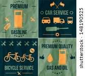 gasoline web collection | Shutterstock .eps vector #148190525