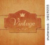 vintage wallpaper | Shutterstock .eps vector #148190555