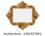 set of decorative vintage... | Shutterstock .eps vector #1481927891